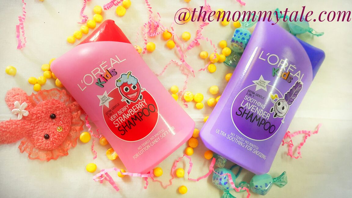 L'oreal Kids Shampoo is now in India- review from themommytale