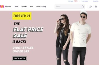 Online shopping for kids, is so much fun with Myntra