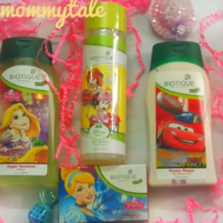 Complete care range for your child – Biotique Botanicals Kids Range.