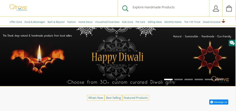 Diwali celebration Gifting solution - Qtrove